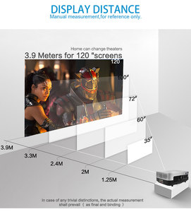 Image 4 - POWERFUL LED Projector SV 428 Support 1080p 3800 Lumens Optional Android (1G+8G) WIFI Bluetooth for Home Cinema Video Beamer