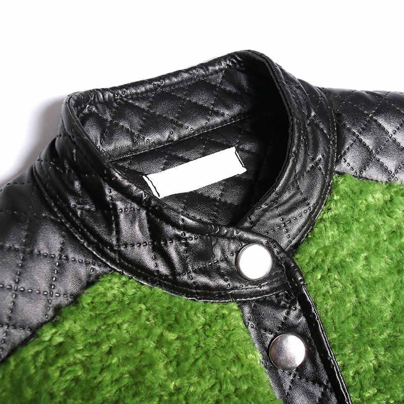 XITAO حجم كبير خندق فضفاض موضة جديدة المرقعة جيب واسعة الخصر واحد الثدي مستقيم كم كامل 2019 معطف الشتاء XJ2826