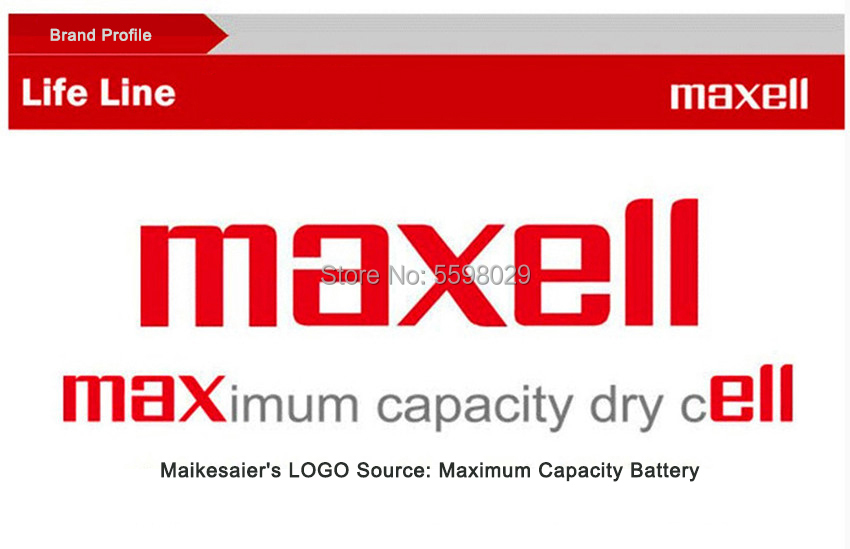 100pc para maxell cr2016 br2016 dl2016 lm2016