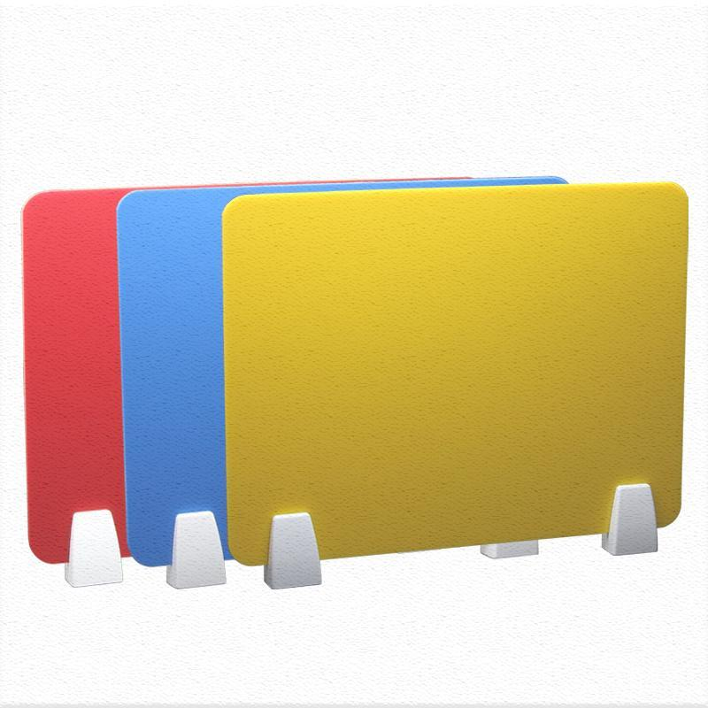 Acrylic Board With Fixed Clip Desktop Baffle Table Separator Student Examination Partition Screen Protector Furniture Hardware