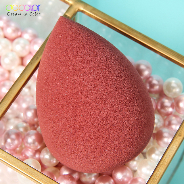 Docolor Makeup Sponge Professional Cosmetic Puff For Foundation Concealer Cream Beauty Make Up Soft Water Sponge Wholesale 4