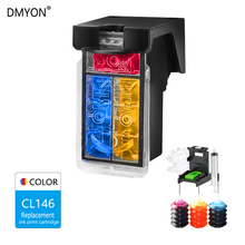 DMYON CL146 Tri-color Ink Cartridge Compatible for Canon 146 XL MG2410 2510 IP2900 2900 Printer Cartridges