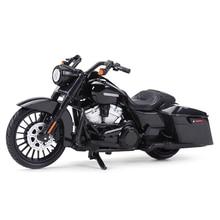 Maisto 1:18 2017 Road King özel Diecast alaşım motosiklet modeli oyuncak