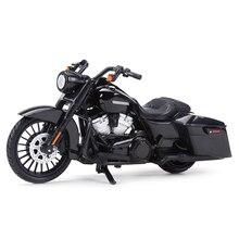 Maisto 1:18 2017 Road King Специальные Литые автомобили, коллекционные хобби модель мотоцикла, игрушки