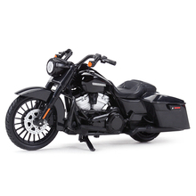 Maisto 1:18 2017 الطريق الملك الخاصة دييكاست سبيكة نموذج دراجة نارية لعبة