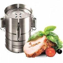 Гамбургер Пресс Ham чайник в виде бургера мясо Пресс Нержавеющая сталь 3-х слойные мясо Давление круглый стержень для Кухня