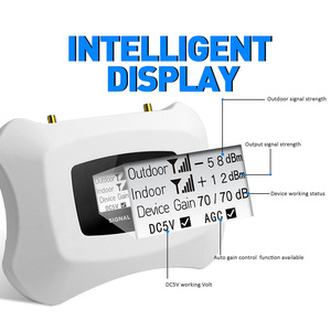 Image 4 - Hot Koop! Real Smart 2G Signaal Versterker Gsm Mobiele Signaal Booster Kit Gsm Repeater 900Mhz Mobiele Telefoon Versterker Gsm Repeater kit