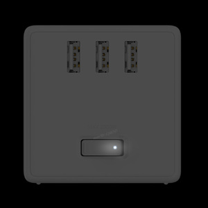 Image 2 - Xiaomi Mijia 2 In 1 Usb Charger Power Strip Draadloze Adapter 6 Poorten Socket Converter Ruimtebesparend Socket Plug outlet Magic Cube