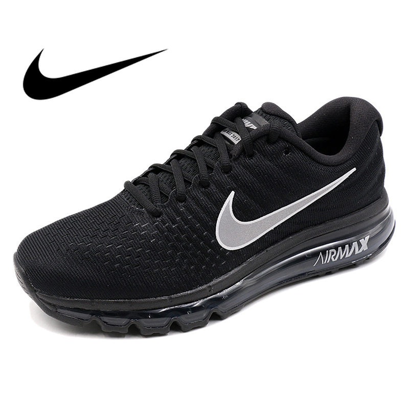 Original Official Nike Air Max 2018 Breathable Men's Running Shoes  Sneakers Air Cushion Shoes Outdoor  Men Sneakers  Stability