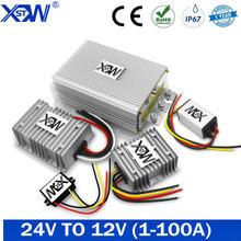 Conversor 24 v da c.c. a 12 v 1a 5a 10a 100a 50a step down 24 volts à tensão do regulador do fanfarrão de 12 volts com ce para o solar para o diodo emissor de luz