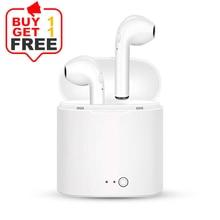 i7s TWS Wireless Headphones беспроводные наушники Wireless Earphone гарнитура Bluetooth with чехол для наушников redmi airdots гарнитура monster isport bluetooth wireless superslim green 128652 00