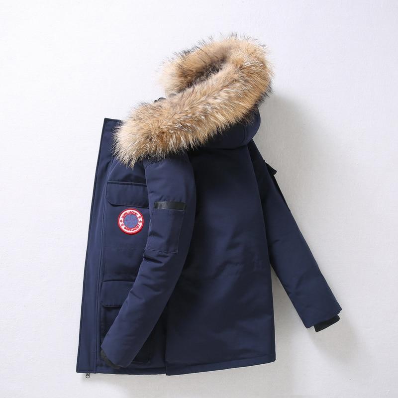 90%Down Jackets Men Winter Jacket Men Fashion Thick Warm Parkas Fur White Duck Down Coats Casual Man Waterproof Down Jackets 165 Men Men's Clothings Men's Sweaters/Coats/Jackets cb5feb1b7314637725a2e7: G165 ArmyGreen|G165 black|G165 Blue|G165 Camouflage|G165 Pink|G165 red|G165 SkyBlue|G165 White