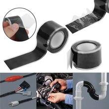 30cm preto fita autoadesiva de alta temperatura resistente fita de silicone acessórios para casa fábrica cinta resistente al calor