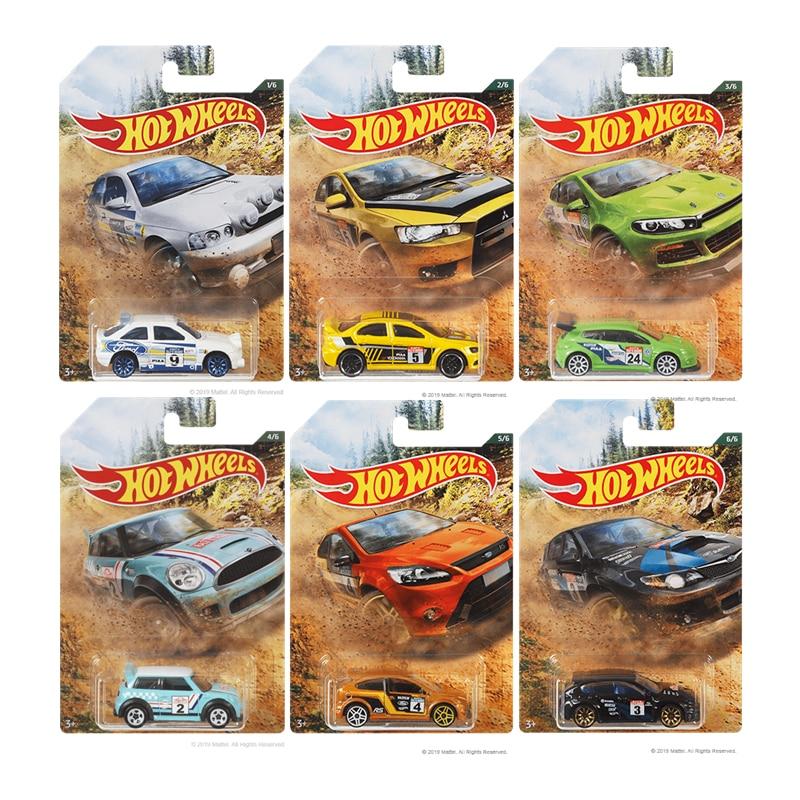 1/64-Model Car-Toy Metal Diecast Hot-Wheels Ford Rambogini Honda Original of Edition
