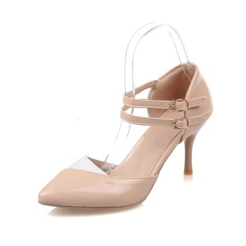2017 nowa sprzedaż sandały gladiatorki damskie obuwie damskie moda duże rozmiary 34- 47 sandały damskie buty damskie szpilki damskie pompy 7-5 tanie i dobre opinie QPLYXCO CN (pochodzenie) Otwarta RUBBER 0-3 cm Party pasek z klamrą Dobrze pasuje do rozmiaru wybierz swój normalny rozmiar
