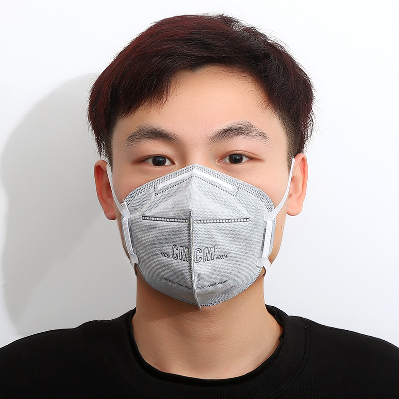 3/5/10pcs Mask Activated Carbon Filter Efficient Filtration Anti Haze Mouth Fashion Unisex Breathable Mouth N95 Mask