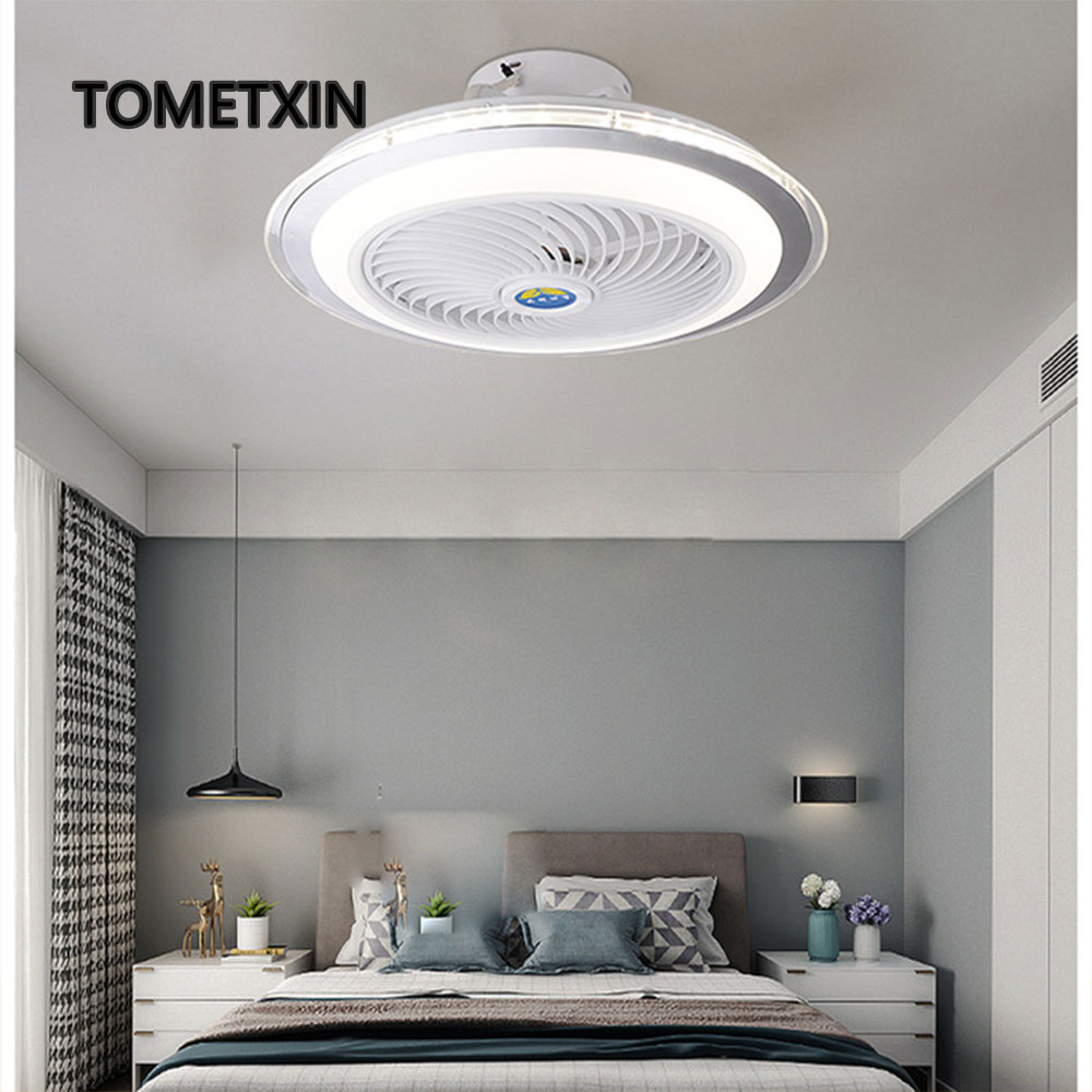 Ambitious 50cm Led Ceiling Fan Light Smart App Bluetooth Remote Control For Home Lamp Lighting Lamps Kids Room Bedroom Living Room To Prevent And Cure Diseases