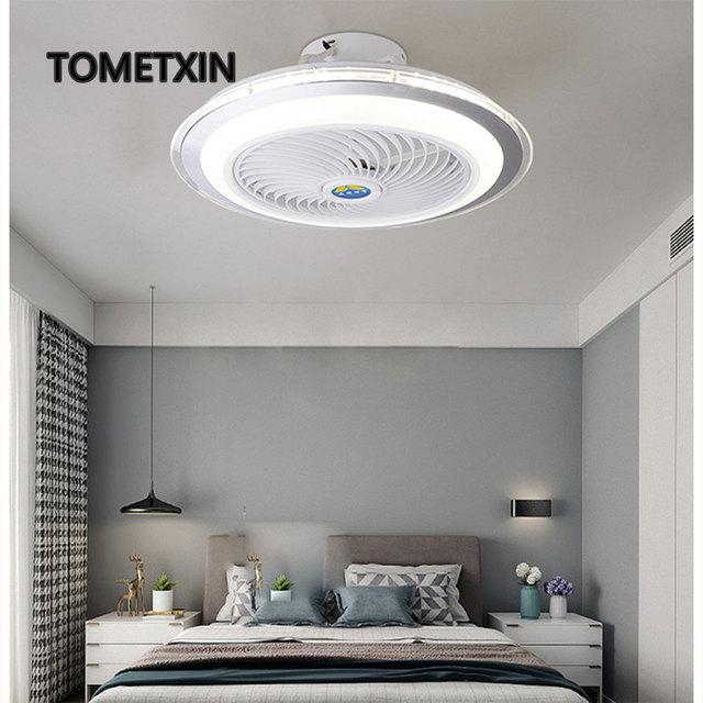 50cm led ceiling fan light smart app Bluetooth remote control for home lamp lighting lamps kids room bedroom living room