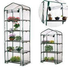 Warm Garden Greenhouse Cover Clear PVC Plant Flowers for Outdoor Growing Seedlings Waterproof Anti-UV Potted Plants
