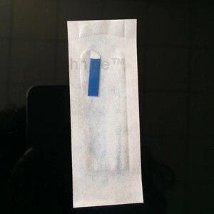 Image 5 - 0.18Mm 7 9 11 12 14 Hình Chữ U Thường Trực Trang Điểm Chân Mày Flex Hình Xăm Kim Lưỡi Dao Cho 3D Microblading Lamina lưỡi Dao Agulhas Tebori