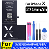 JOUYM Battery For iPhone 6s 6 s 5s 5 SE 7 8 Plus Original High Capacity Bateria Replacement Batterie For iPhone X Xs Max Xr 7P 8