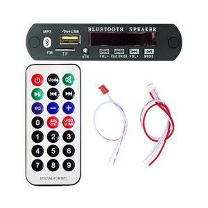 Image 1 - Bluetooth MP3デコードボードモジュールw/sdカードスロット/usb/fm/リモートデコードボードモジュールM011