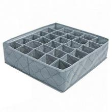 30 siatki bielizna skarpetki szuflada szafa bambusowy węgiel drzewny Organizer Box BJStore tanie tanio Włókniny tkaniny