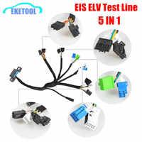 EIS ELV test Linien Unterstützt Für Mercedes Arbeitet Zusammen mit VVDI MB BGA WERKZEUG CGDI Prog MB (5- in-1) mit Dashboard Stecker
