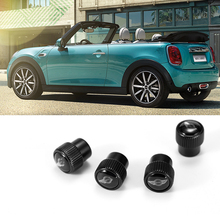 4 pcs For BMW MINI COOPER JCW ONE F54 F55 F56 F60 R55 R56 R60 R61 Wheel Tyre Stem Air cover Zinc Alloy Car Tire valve stem caps все цены