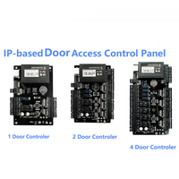 TCP IP Wiegand 26 Door Access Control Panel Board for security solutions access control System 30000Users