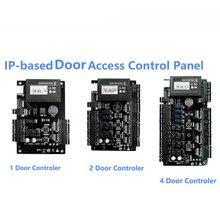 Tcp ipウィーガンド 26 ドアアクセスコントロールパネルボードためセキュリティソリューションアクセス制御システム 30000 ユーザー
