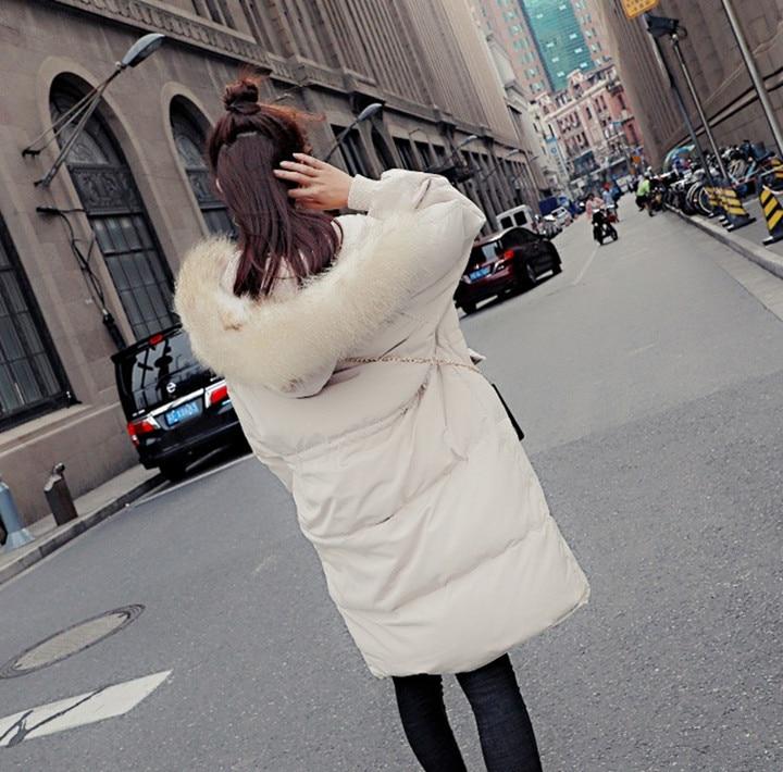 2020 New Duck Down Jacket Woman Hooded Winter Coat Women Korean Loose Thick Long Parka Coats Chamarras De Mujer KJ454