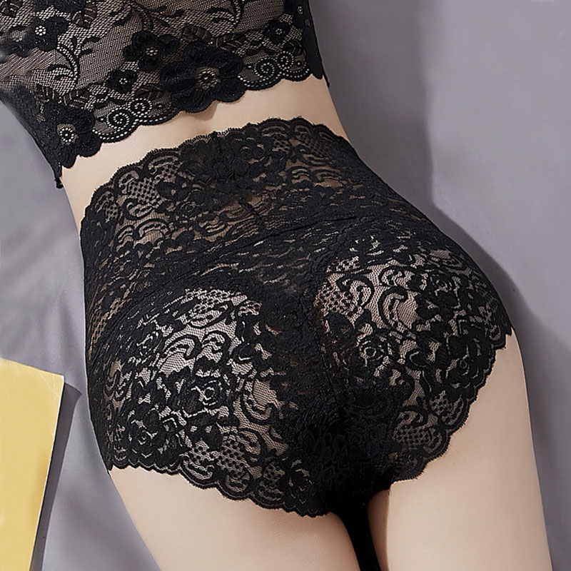 M-3XL Floral Lace Panties Sexy Underwear For Women High Waist Pantys Lingerie Female Seamless Panties Briefs Underpants Hot Sale