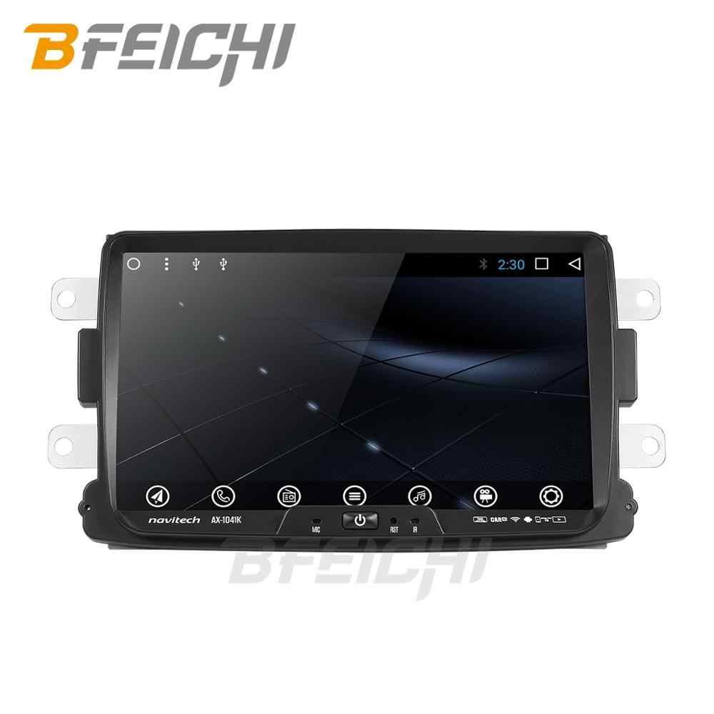 Octa core android 9,0 coche dvd para Dacia Lodgy Logan Duster Sandero con 1 din radio gps video wifi navegación reproductor multimedia