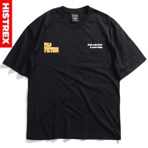 Image 2 - New Quentin Tarantino T Shirt Men Women Print 100 Cotton Japan Harajuku Hip Hop T Shirts Streetwear Tee Top tshirt Man