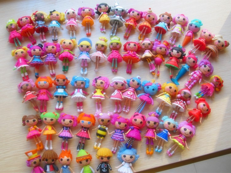 2016 new 8cm 2inch 4pcs/1lot original MGA mini Lalaloopsy Doll gift for child child toys New Year's gift image