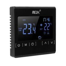 цены на LCD Touch Screen Thermostat Electric Floor Heating System Water Heating Thermoregulator AC85-240V Temperature Controller  в интернет-магазинах