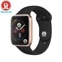 Reloj inteligente Serie 4 para hombre y mujer, podómetro con Bluetooth de 42mm, reloj inteligente 1:1 para ios apple iPhone y Android Samsung teléfono