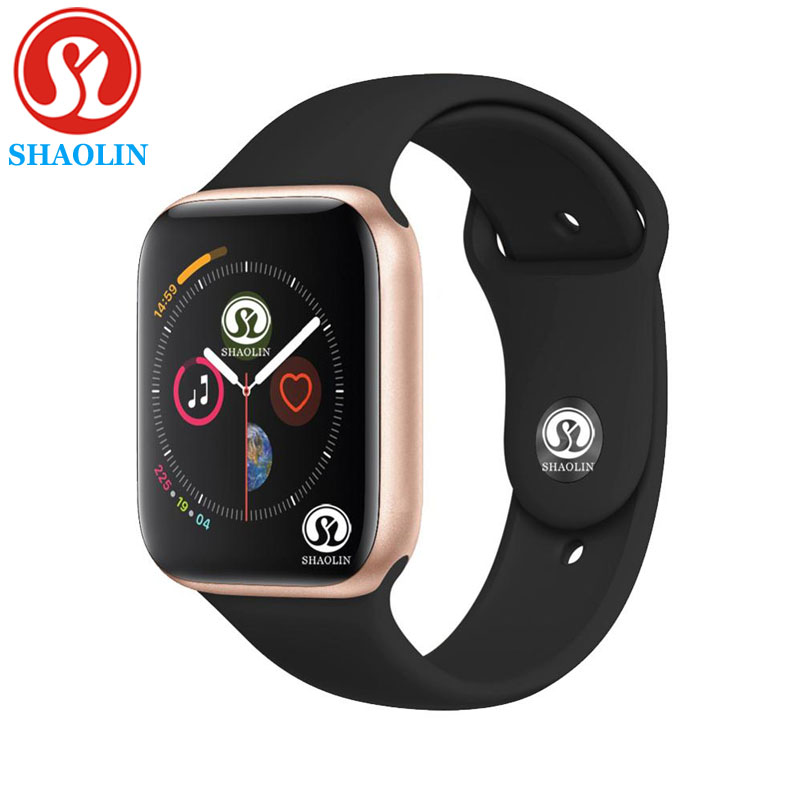 Men Women Smart Watch Series 4 Heartrate Pedometor 42mm Bluetooth smartwatch 1:1 for ios apple iPhone & Android Samsung phone-in Smart Watches from Consumer Electronics