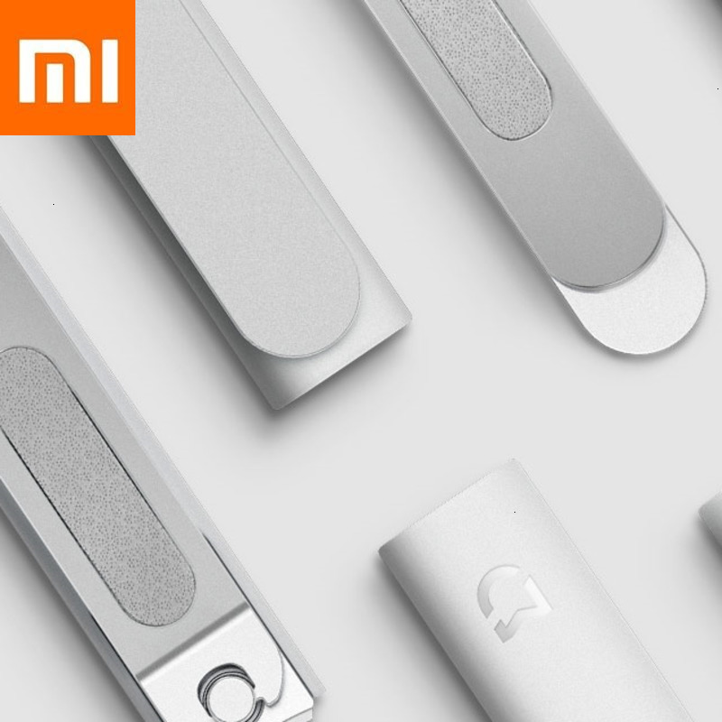 Xiaomi Mijia Nails Clipper Stainless Nail Scissors Knife Toenail Shears Tool Professional Manicure Plash Proof Beauty Hand Foot