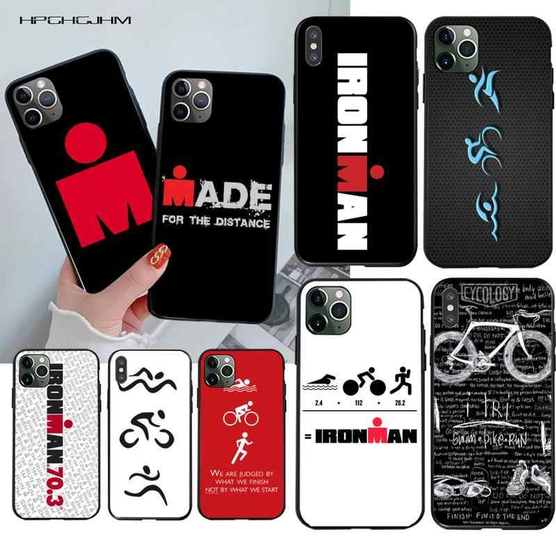 Ironman Triathlon DIY Printing Phone Case cover Shell for iPhone 11 pro XS MAX 8 7 6 6S Plus X 5S SE 2020 XR case