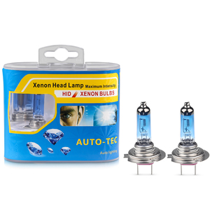 2pcs halogen lamp 12V H7 100W