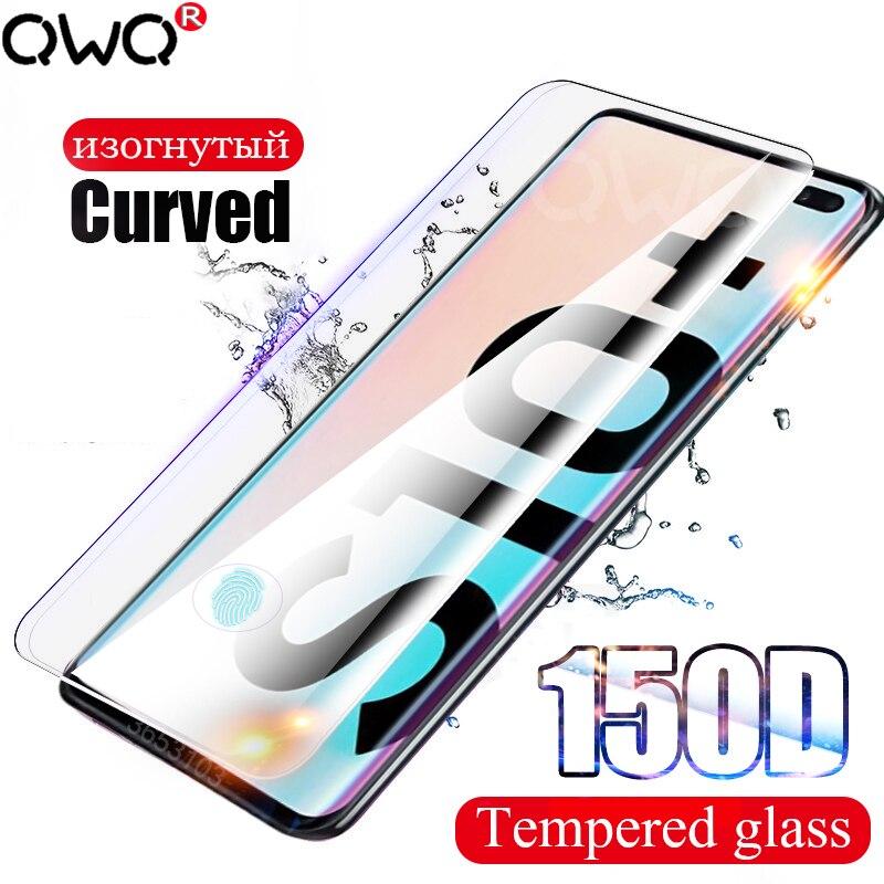 curvo vidro temperado para samsung galaxy a50 nota 10 s8 s9 s10 plus 8 9 hydrogels protetor de tela para samsung a70 a7 filme 25D