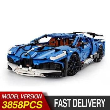 MOC Technic Series Bugattied Chiron Sport Racing Car Model Kit Building Blocks Kids Toys Bricks Compatible With Lepining 42083