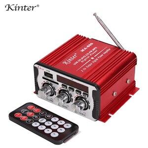 Image 5 - Kinter Ma 600 Mini Khuếch Đại Âm Thanh Có Đài FM 2CH Bluetooth Khuếch Đại DC12V SD USB Đầu Vào Chơi Âm Thanh Stereo siêu Bass