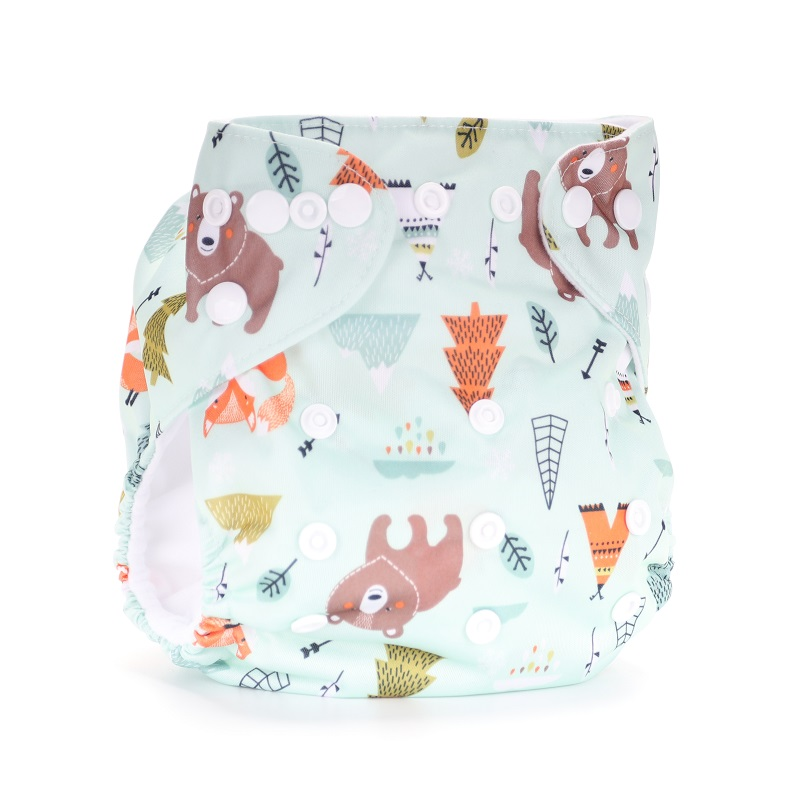 2020 New Baby Washable Reusable Real Cloth STANDARD Hook-Loop Pocket Nappy Diaper Cover Wrap, Suits Birth To Potty