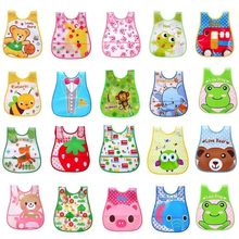 High Quality Mouth To Baby Cloth Baby Waterproof Cute Kid Infant Bibs Baby Soft Cartoon Bib Waterproof Saliva Dripping Bibs(China)