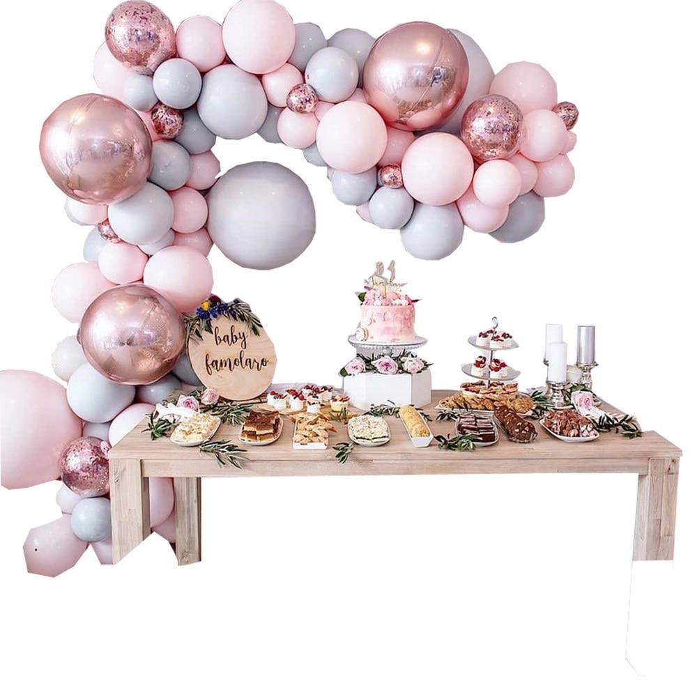 98-pcs-Macaroon-Balloons-Arch-Kit-Pastel-Grey-Pink-Balloons-Garland-Rose-Gold-Confetti-Globos-Wedding (2)