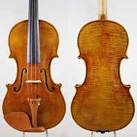 ¡Copia de la caja de instrumentos musicales de violín profesional 'del Gesu' del violín #182 + arco, envío gratis!