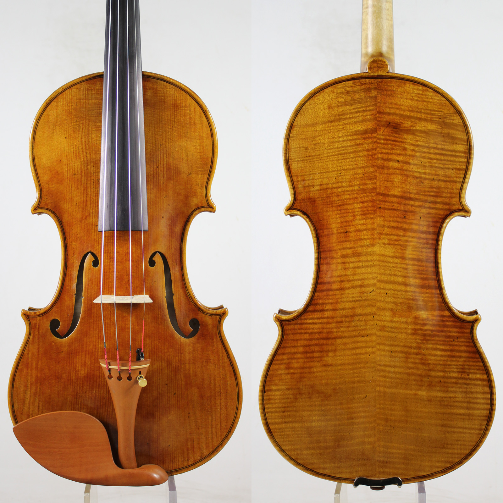 Copy Guarnieri 'del Gesu' Violin Violino #182 Professional Violin Musical Instrument+Case, Bow,Free Shipping!
